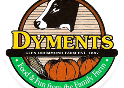 Dyments logo.