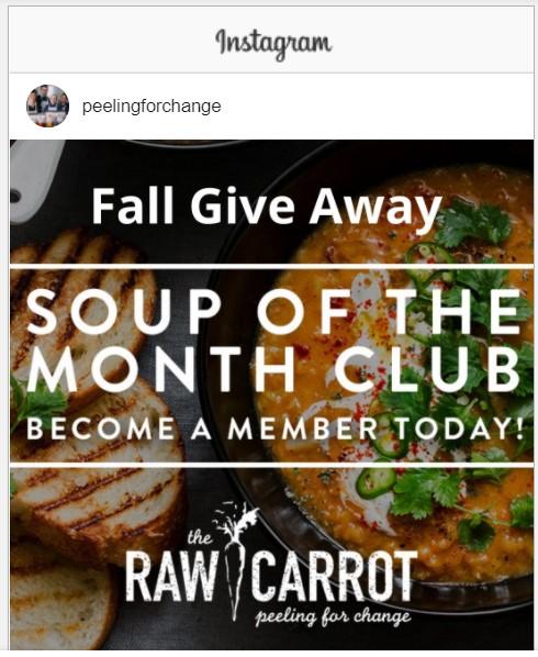 Win free Soup