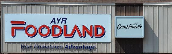 AYR Foodland logo.