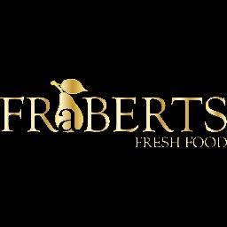 Fraberts Fresh Foods logo.
