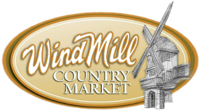 Windmill country market logo.